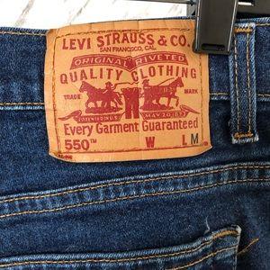 VINTAGE Levis 550 High Rise Mom Jeans SZ 16 MIS M